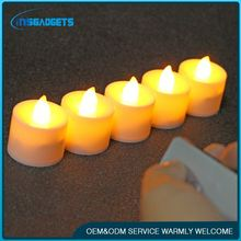 Rechargeable electric tea light led candle ,h0tPV flameless moving wick led candle for sale