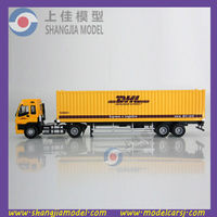 1:50 DHL diecast container truck model,diecast truck toy,china model truck toy factory