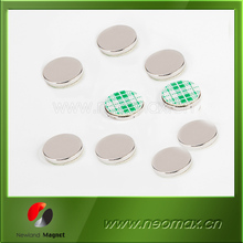 disc/square neodymium magnet with 3M adhesive
