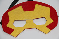 Wholesale superhero kids masks Christmas high quality costume super hero Cool Cartoon children masquerade mask gift