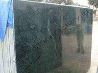 Dark green marble slabs