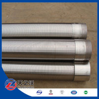 Johnson wedge wire water well screen filter/johnson v wedge wire stainless steel water well pipe screen