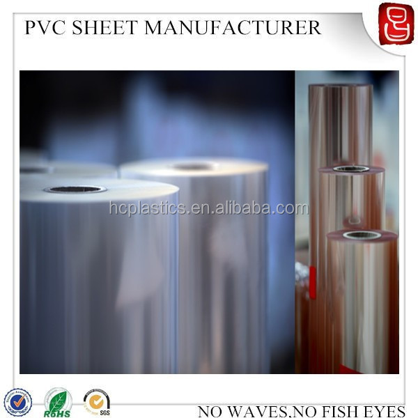 High quality competitive price rigid clear pvc