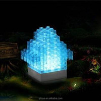 Newest Educational Toys Electronic Building Blocks Set 54PCS With LED Light Fun Game Enlighten Bricks Physics Learning For Kids