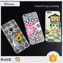 Wholesale Price Customized UV Printing Hard PC Case For iPhone 7