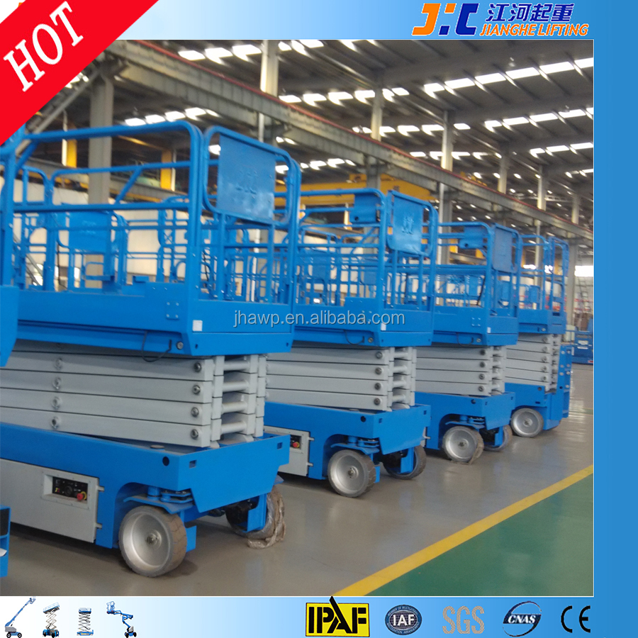 China Cheap Electric Hydraulic Scissor Lift Table Small Two Man Lifters