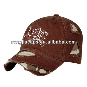 Wholesale Fashional 6 panel baseball cap