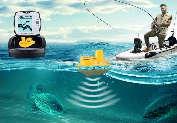 Promotional discounted long distance fish detector