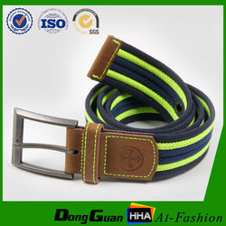Best price fabric webbing jeans belts with cheap price