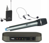 TKC BT-801B UHF Dual-Channel Teching Wireless Headset Microphone System