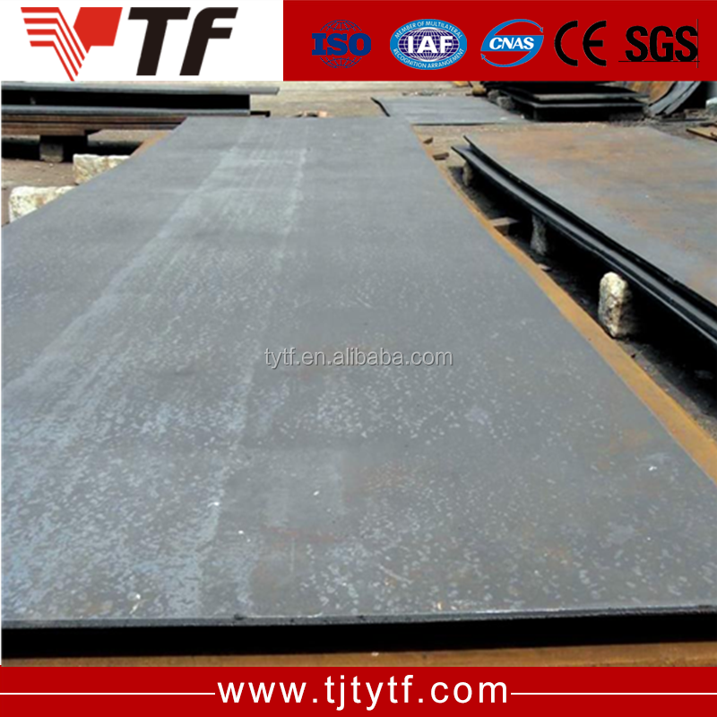 wear-resisting ribbed steel plate