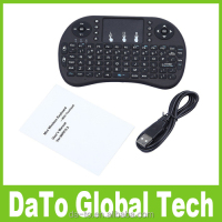 Factory Price White Black Rii i8 2.4G Mini Handheld Wireless Keyboard