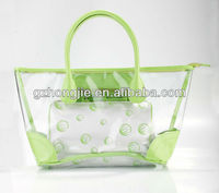 2013 clear pvc beach bag shopping bag waterproof