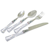 Elegant Style French Cutlery Silverware Set Flatware Set 4pcs