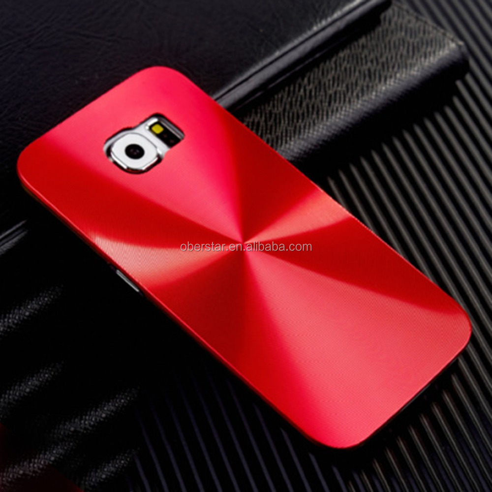 For Samsung Galaxy S4 S5 Note4 3 Hard Snap On Back Case Cover Metal Aluminum CD