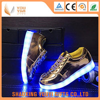 adult glow luminous light hip hop led dancing shoes