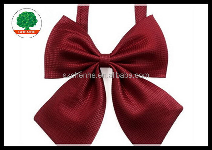 Alibaba china latest elastic cord bow tie