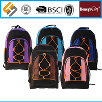 2016 new designer combined color custom made pattern custom made basketball backpack