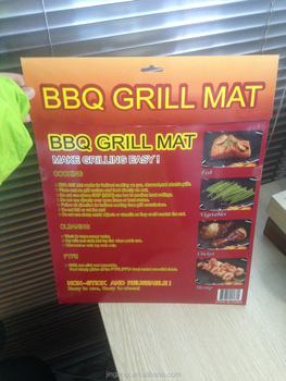 2 Mats Per Pack Easy BBQ Grill Mat Bake NonStick Grilling Mats As Seen On TV New