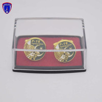 Wholesale Gold Tone Custom Pakistan Tie Clip Sets And Cufflink For Best Selling With Box