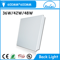 China Oem Brand White Frame Led Panel Light 60x60 48w