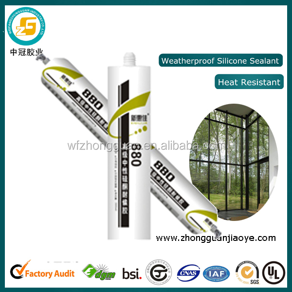 Senior silicone weatherproof sealant joint filler for architectural material