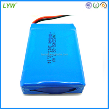 7.4v rechargeable lithium polymer battery/7.4V lipo battery 1000mah