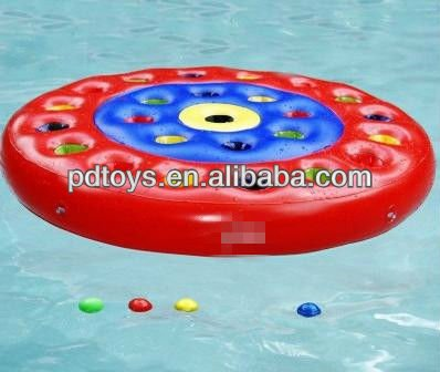 Inflatable Pool yard target Game for kids toys
