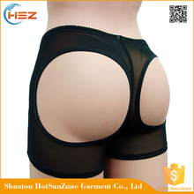 HSZ-0100 Latest Sex Transparent Underwear For Women Tummy Control Body Shaper Panty Female Plus Size Butt Lifter Panties