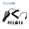 High-Speed Micro Car Charger CE 1a With Built-in Micro USB Cable Power Adapter Compatible