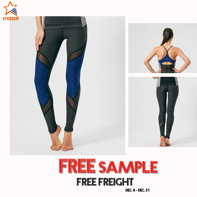 Custom womens sexy compression tights stretchy capris fitness yoga leggings