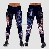 (Trade Assurance)Active Yoga Pant Fitness Mesh Fabric For Sports Pants,Workout clothes sexy girl sport legging hot new yoga pant