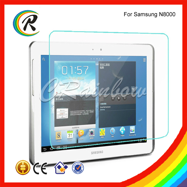Anti-fingerprint for Samsung Galaxy note 10.1 tempered glass screen protector