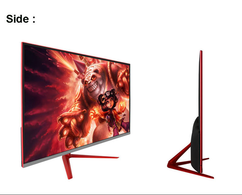Full view 1.07 billon color 27 inch 2K 144hz gaming led monitor