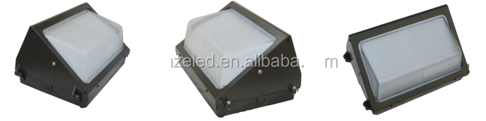 Template 3 UL cUL approved led wall pack IP65 8 years warranty 150w 120w 100w led wallpack