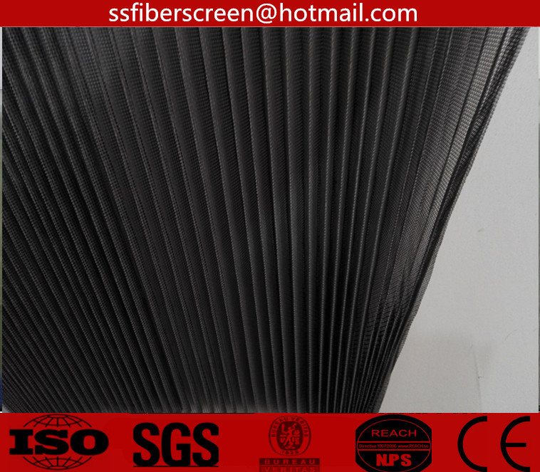 Sliding door & window screen fiberglass folding insect screen