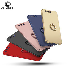 Super Slim Hard Plastic Finger Ring Holder Rotation Back Cover Mobile Phone Case For Xiaomi Mi6 Redmi Note 5A Mi 5X Mix 2 Note 3