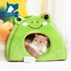 Best Selling Cartoon Green Frog Pet Product Luxury Dog Bed