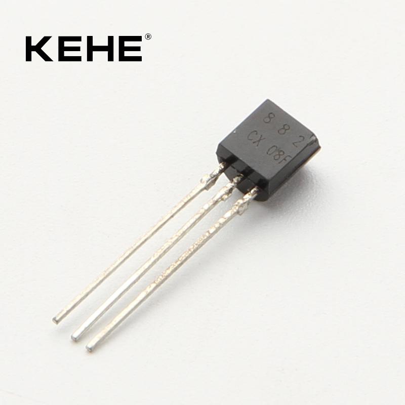 100 Pcs 2SD882 TO-92 D882 NPN Transistor de potencia media