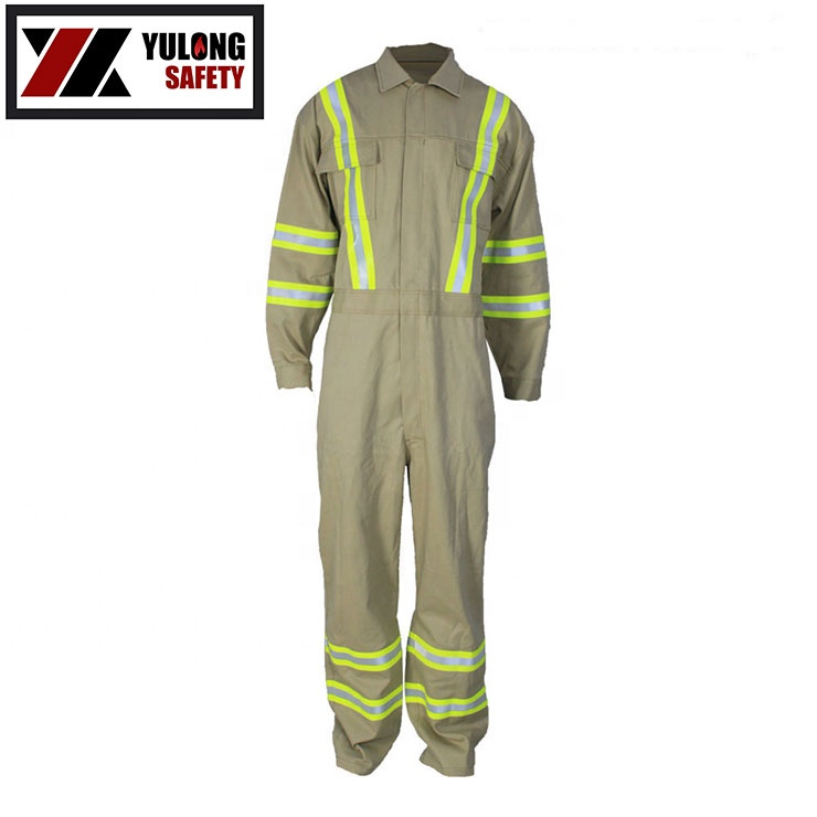 Safety Clothing Aramid Fire Retardant Coverall
