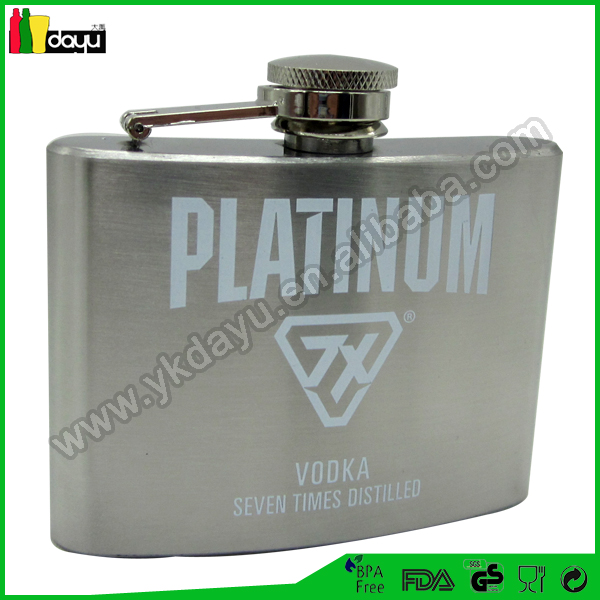 1oz to 10oz stainless steel flask hip