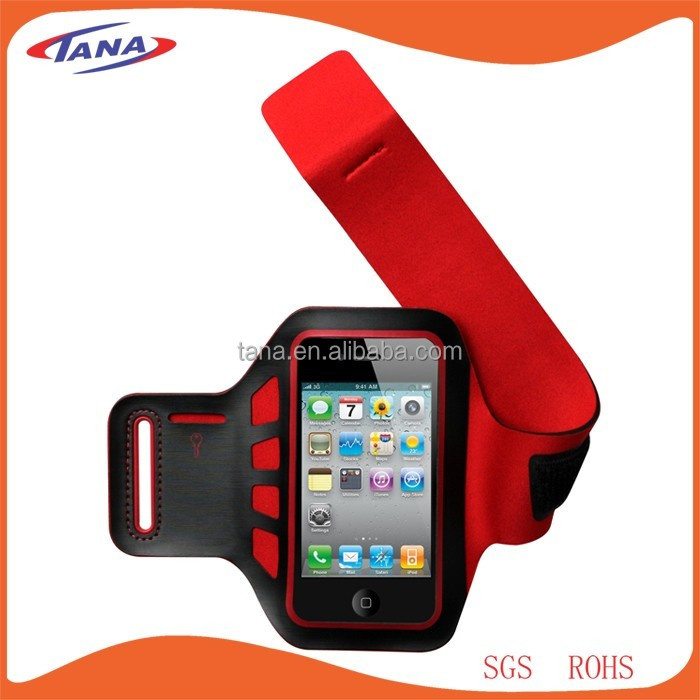 5.5 inch cell phone promotional products touch screen waterproof arm band for iphone