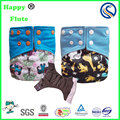 Happy flute cloth diapers reusable washable adjust diaper factory sale