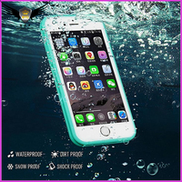 mobile phone accessory back cover case for iphone 7, waterproof phone case for iphone 7