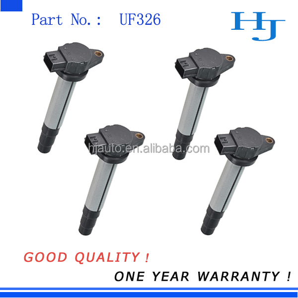 Ignition Coil Set 4 Pack for <strong>N</strong> issan 1.8L Sentra 2000 2001 UF326 22448 4M500 CM11-205