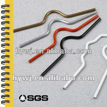 different size and shape metal binding hanger for wall calendar use