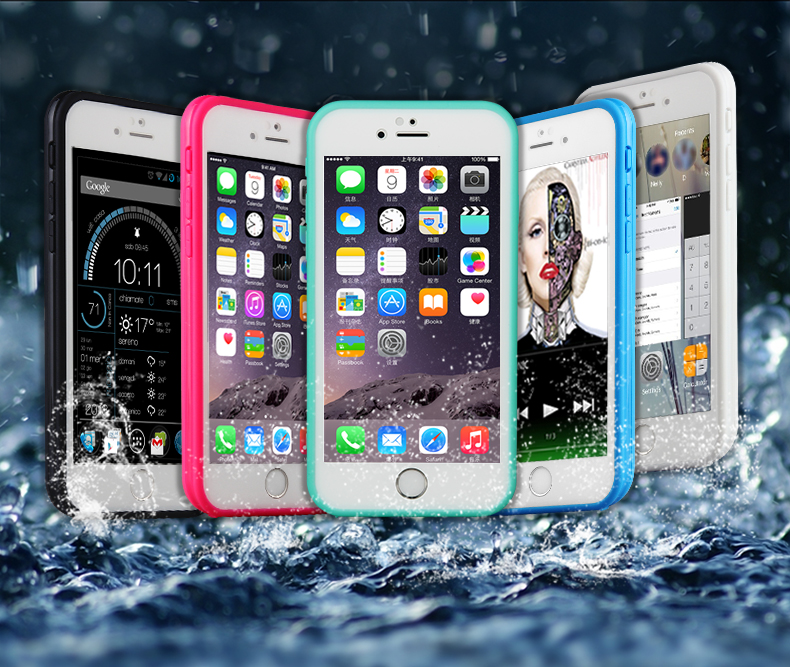 2016 latest mobile phone waterproof case for iphone 5s