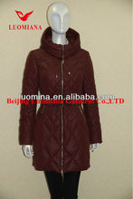 winter down feather women sex clothes fashion