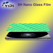 Cell Phone Use 9H Flat Edge Tempered Glass Film, Mobile Phone Use 9H Nano Glass For Iphone 7/