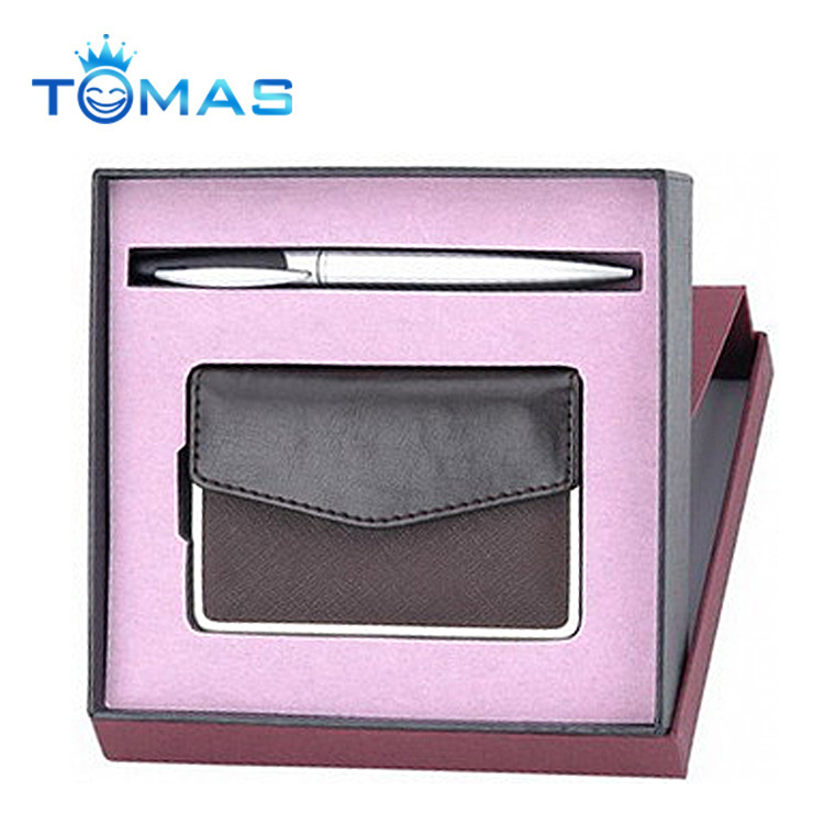 High end card holder new business gift giveaways ideas